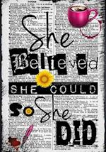 She Believed She Could So She Did af Rogena Mitchell-Jones