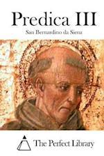 Predica III af San Bernardino Da Siena