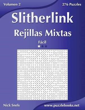 Slitherlink Rejillas Mixtas - Facil - Volumen 2 - 276 Puzzles