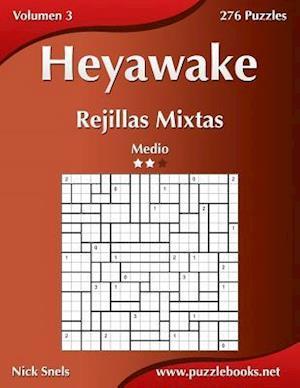Heyawake Rejillas Mixtas - Medio - Volumen 3 - 276 Puzzles