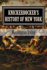 Knickerbocker's History of New York af Washington Irving