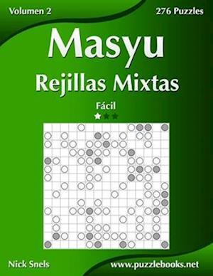 Masyu Rejillas Mixtas - Facil - Volumen 2 - 276 Puzzles