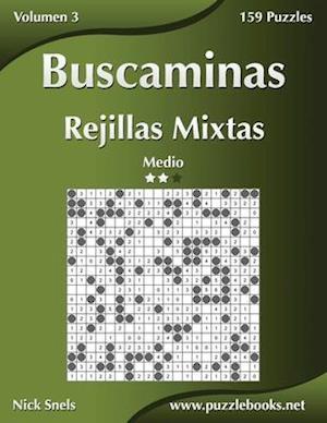 Buscaminas Rejillas Mixtas - Medio - Volumen 3 - 159 Puzzles