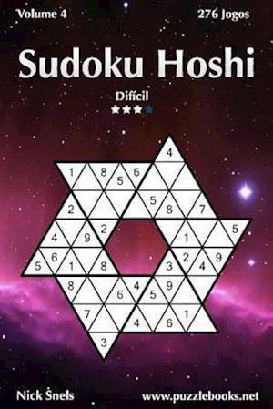 Sudoku Hoshi - Dificil - Volume 4 - 276 Jogos