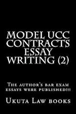 Model Ucc Contracts Essay Writing (2)