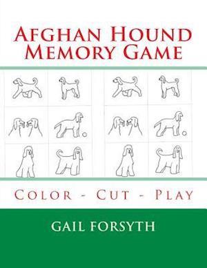 Afghan Hound Memory Game