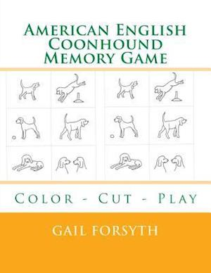 American English Coonhound Memory Game