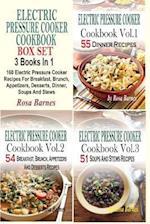 Electric Pressure Cooker Cookbook Box Set