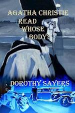 Agatha Christie Read Whose Body? af Dorothy Sayers