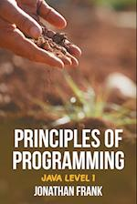 Principles of Programming: Java Level 1 af Jonathan Frank