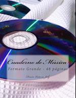 Cuaderno de Musica Formato Grande 48 Paginas