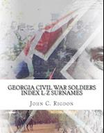 Georgia Civil War Soldiers Index L-Z Surnames