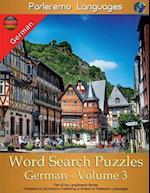 Parleremo Languages Word Search Puzzles German - Volume 3
