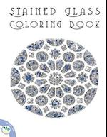 Stained Glass Coloring Book
