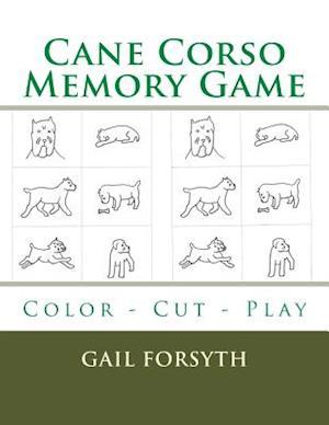 Cane Corso Memory Game