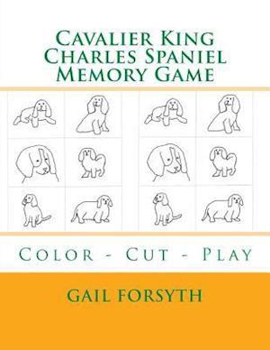 Cavalier King Charles Spaniel Memory Game