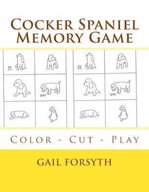Cocker Spaniel Memory Game