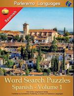 Parleremo Languages Word Search Puzzles Spanish - Volume 1