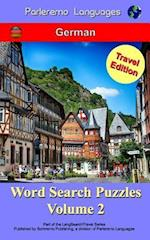 Parleremo Languages Word Search Puzzles Travel Edition German - Volume 2
