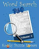 Word Search, Volume 2 af Kooky Puzzle Lovers