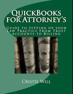 QuickBooks for Attorney's