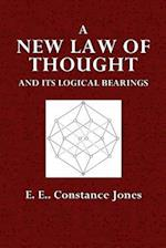 A New Law of Thought and Its Logical Bearings af E. E. Constance Jones