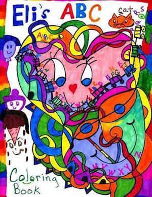Bog, paperback Eli's ABC Coloring Book af Marita L. Gale