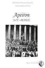 Apeiron - Revista Filosofica DOS Alunos Da Universidade Do Minho af Steven S. Gouveia