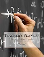 Teacher's Planner for Jewish Day Schools and Home Schools (Yoman)