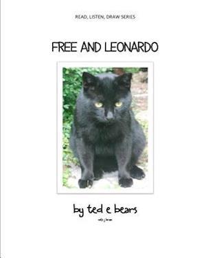 Bog, paperback Free and Leonardo af Ted E. Bears