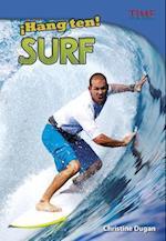 Hang Ten! Surf (Time For Kids en Espanol Level 4)