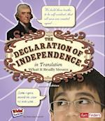 Declaration of Independence in Translation (Kids' Translations)