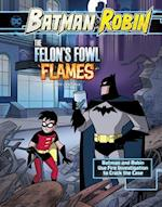 The Felon's Fowl Flames (Batman Robin Crime Scene Investigations)