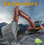 Excavators (Construction Vehicles at Work)
