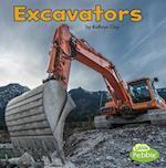 Excavators (Construction Vehicles at Work)