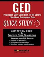 GED Preparation Study Guide Book