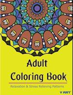 Adult Coloring Book af Coloring Books For Adults Relaxation, Mandala Coloring Book, V. Art