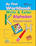 My First Workbook - Write and Color Alphabet Uppercase af Husam Network
