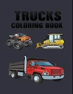 Truck Coloring Book af Adult Coloring Book, Calavera Family, Coloring Book For Grown-Ups