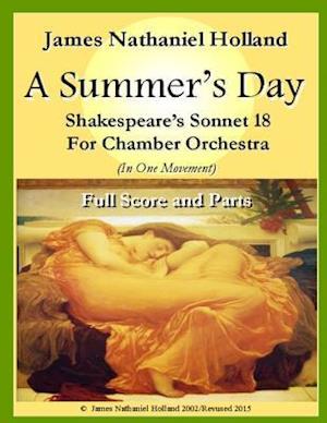 Bog, paperback A Summers Day for Chamber Orchestra af James Nathaniel Holland