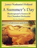 A Summers Day for Chamber Orchestra af James Nathaniel Holland