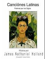 Canciones Latinas Art Songs Para Soprano