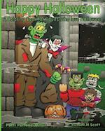 Happy Halloween a Coloring Book for Adults Who Love Halloween