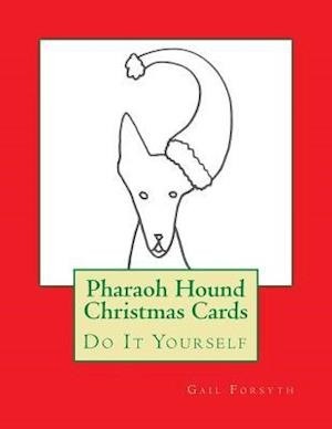 Pharaoh Hound Christmas Cards