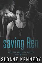Saving Ren af Sloane Kennedy