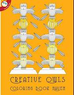 Creative Owls Coloring Book Haven