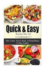 Quick and Easy Recipes Box Set