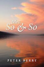 Mrs. Soandso af Peter Berry
