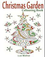 Christmas Garden Colouring Book