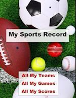 My Sports Record